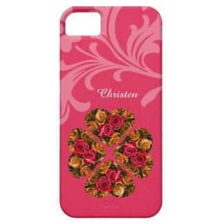 iPhone SE/5/5S Case - Pink Valentine Roses