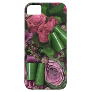 iPhone SE + iPhone 5/5S, Pink and Lilac Flowers. Case For The iPhone 5
