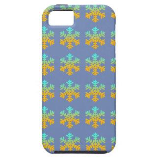 iPhone SE + iPhone 5/5S, Tough Snowflakes Tough iPhone 5 Case