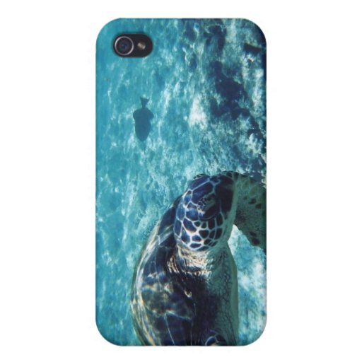 Iphone sea turtle case cover for iPhone 4