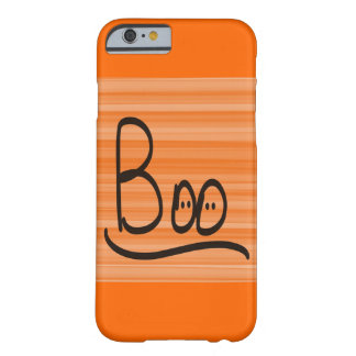 IPhone Six Barely There Orange Halloween Boo Barely There iPhone 6 Case