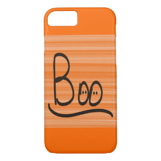 IPhone Six Barely There Orange Halloween Boo iPhone 7 Case