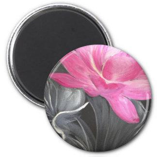 iphone skin. pink lotus design 6 cm round magnet
