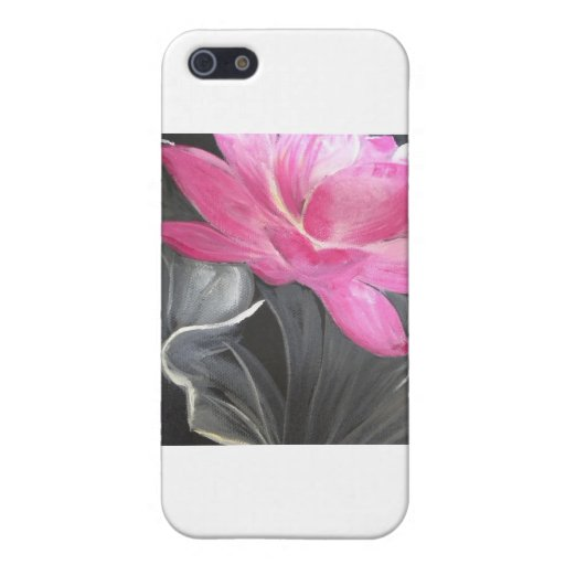 iphone skin. pink lotus design cases for iPhone 5
