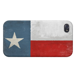 iPhone Skin with Distressed Vintage Texas Flag iPhone 4/4S Cover