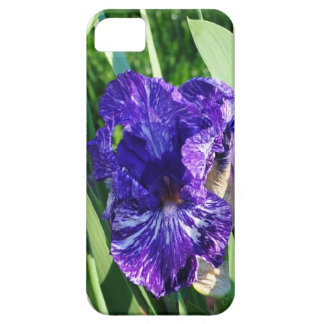iphone skin with purple and white iris iPhone 5 case