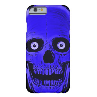 iPhone Skully Skull Horror Blue Skull Case Barely There iPhone 6 Case