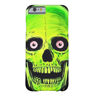 iPhone Skully Skull Horror Ghost Skull Barely There iPhone 6 Case