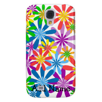 iphone Speck Case Colorful Flowers Galaxy S4 Case