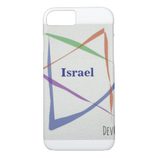 IPhone thin cover Rainbow Jewish Star