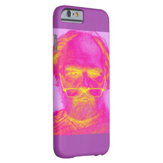 iPhone Tough Case With Recolored Portrait of Man