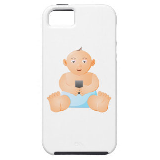 iPhone Tough Phone Case with Baby image