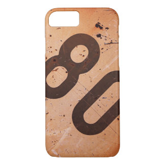 iPhone: Vintage Railroad 80 Speed Train Sign iPhone 7 Case