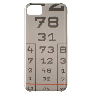 iphone vision test number case for iPhone 5C