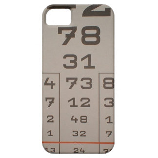 iphone, vision test, number iPhone 5 cover