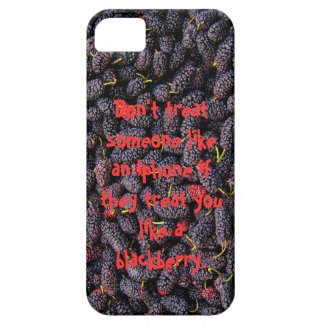 iphone vs Blackberry iPhone 5 Cover