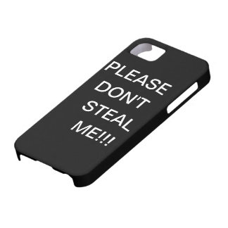 iPhone warning iPhone 5 Cases