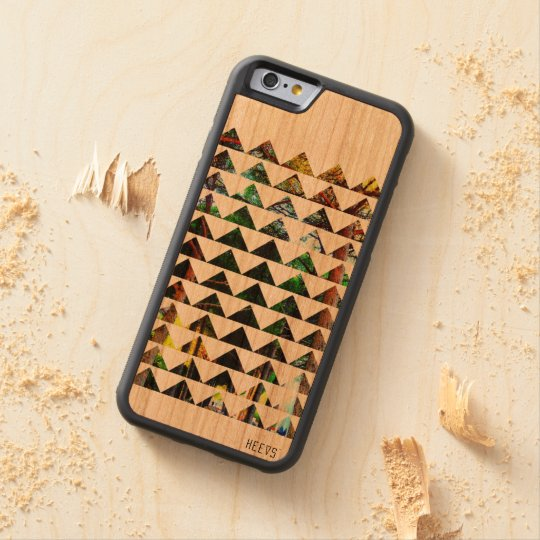 """iPhone Wood Case 6/6S """"Tri-Forest"""" Heevs™"""