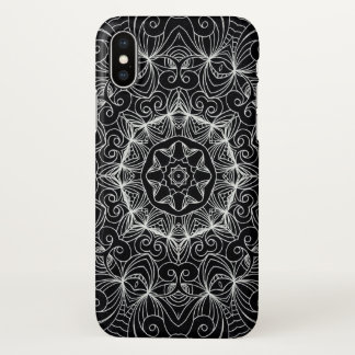 iPhone X Case Drawing Floral Doodle G10
