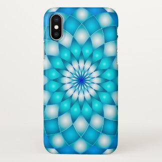 iPhone X Case Mandala Abstract Lotus Flower