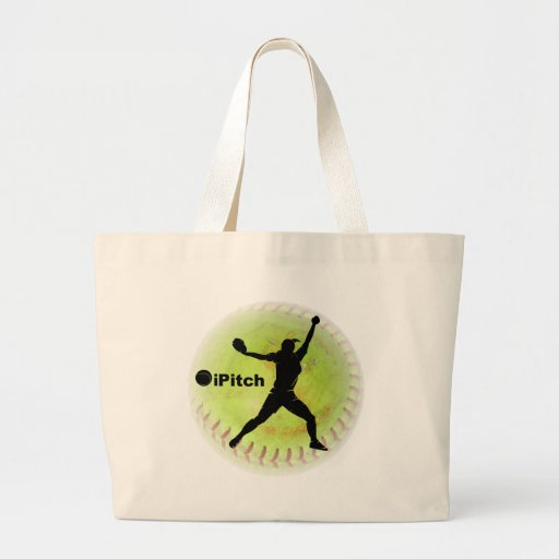 iPitch Fastpitch Softball Tote Bag