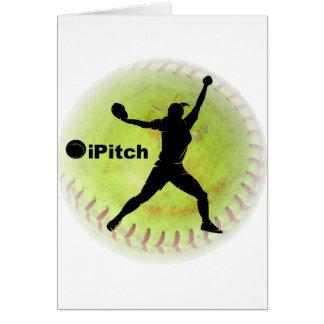 iPitch Fastpitch Softball Card