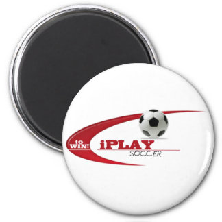 iPLAY to WIN SOCCER 6 Cm Round Magnet