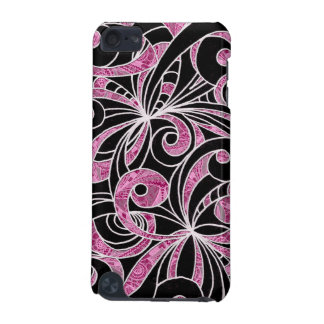 iPod 5g Case Drawing Floral iPod Touch (5th Generation) Cover
