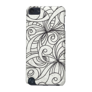 iPod Case Floral abstract background iPod Touch (5th Generation) Cover
