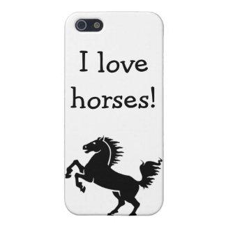iPod / iPad Case: I love horses! iPhone 5/5S Cases
