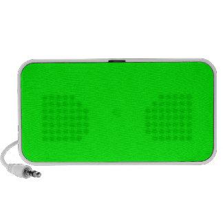 iPod Speaker Lime Green Background