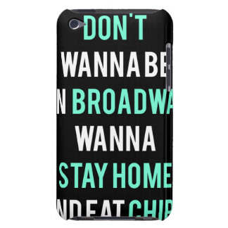 iPod Touch 4th Generation BROADWAY DARK Case iPod Touch Case