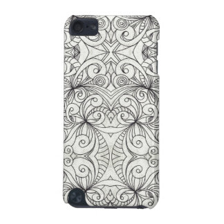 iPod Touch 5g Informel Drawing floral abstract iPod Touch 5G Case