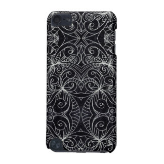 iPod Touch 5g Informel Drawing floral abstract iPod Touch (5th Generation) Case