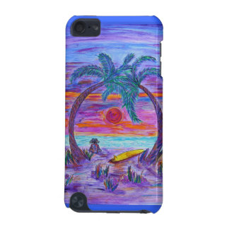 ipod touch case -Buff on the Beach