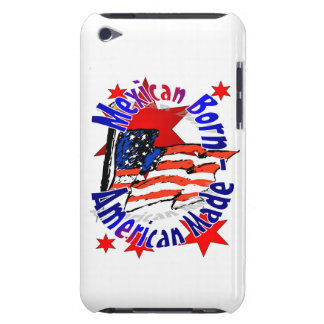 IPOD Touch Case, Mexican American iPod Case-Mate Case