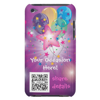 iPod Touch Case Template Celebrate