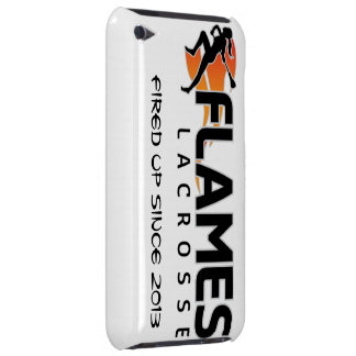 iPod Touch Flames Lacrosse Case Case-Mate iPod Touch Case