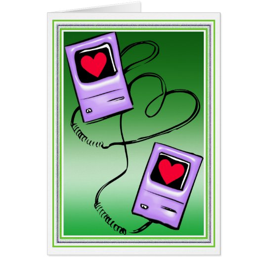 """iPod Twosome"" Valentine Card"