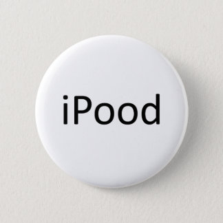 iPood 6 Cm Round Badge