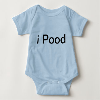 iPOOD and iPEED BOY GIRL TWINS BABY SET OF 2 Baby Bodysuit
