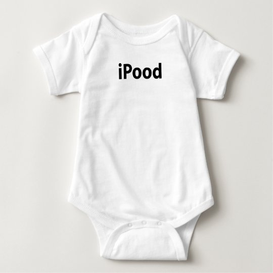 iPood Baby Bodysuit