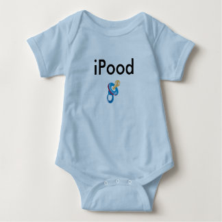 iPood baby clothes Baby Bodysuit