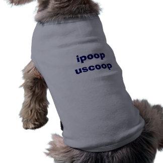 ipoop uscoop sleeveless dog shirt