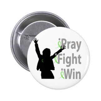 iPray. iFight. iWin. 6 Cm Round Badge
