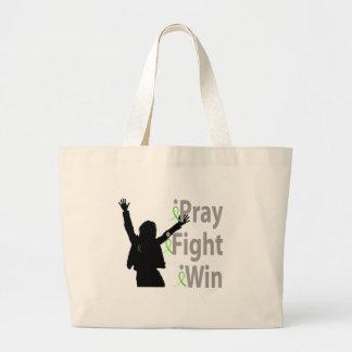 iPray. iFight. iWin. Jumbo Tote Bag