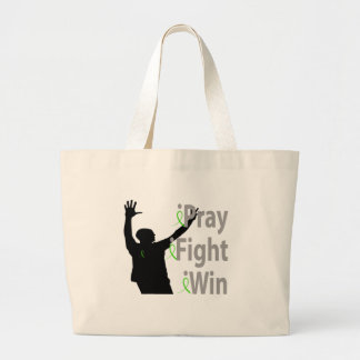 iPray. iFight. iWin. Male Jumbo Tote Bag