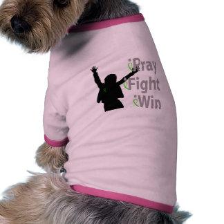 iPray iFight iWin Pet Shirt