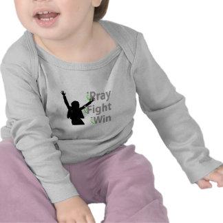 iPray iFight iWin T Shirts