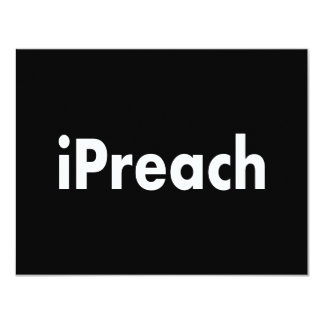 iPreach 11 Cm X 14 Cm Invitation Card